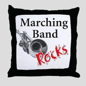 mband_trumpet Throw Pillow