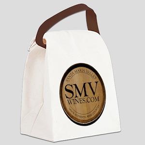 SMV_logo_sm Canvas Lunch Bag
