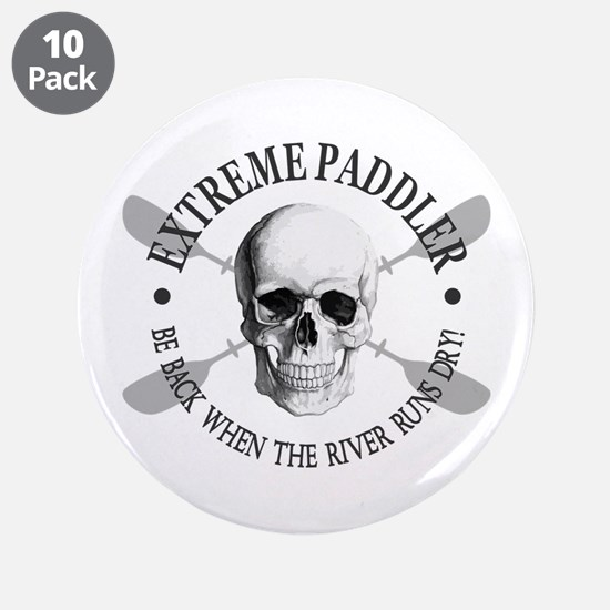 "Extreme Paddler 3.5"" Button (10 pack)"