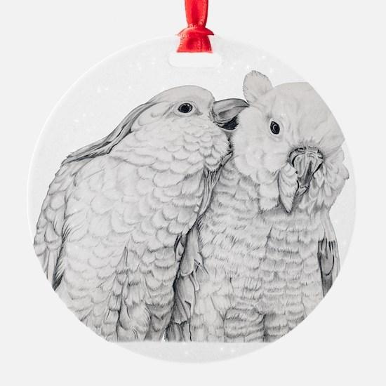 Cockatoos Ornament