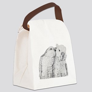 Cockatoos Canvas Lunch Bag