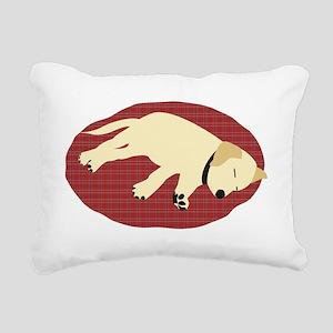 labpuppy2 Rectangular Canvas Pillow