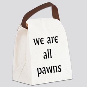 pawns Canvas Lunch Bag