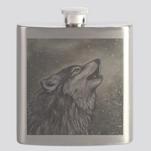 Cover, Wolf 001 Flask