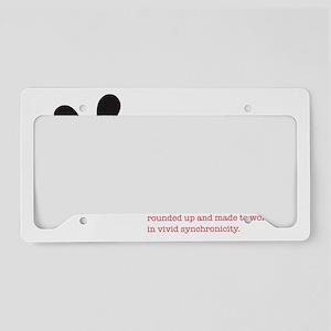 asterisk black License Plate Holder