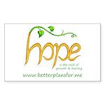 Share your H.O.P.E. Sticker