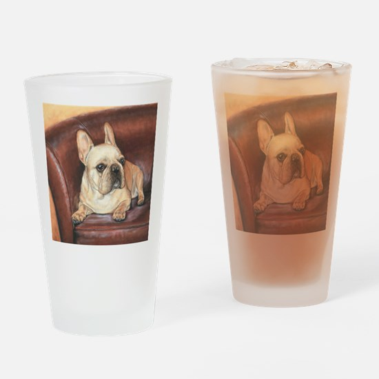 French Bulldog Drinking Glass