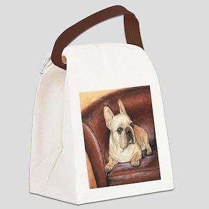 French Bulldog Canvas Lunch Bag