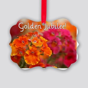 Golden Jubilee Picture Ornament