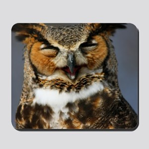 The Laughing Owl Mousepad