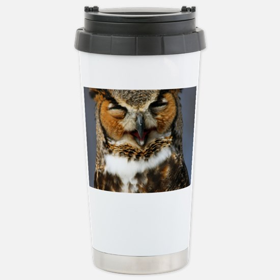 The Laughing Owl Stainless Steel Travel Mug