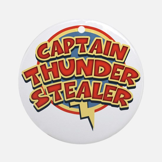 thunderstealer-T Round Ornament