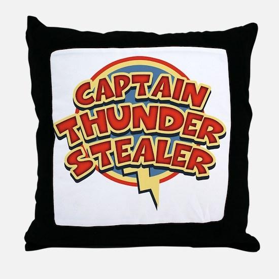 thunderstealer-T Throw Pillow