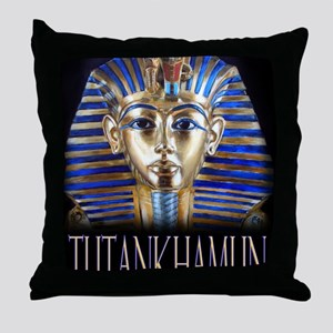 tut painting long Throw Pillow