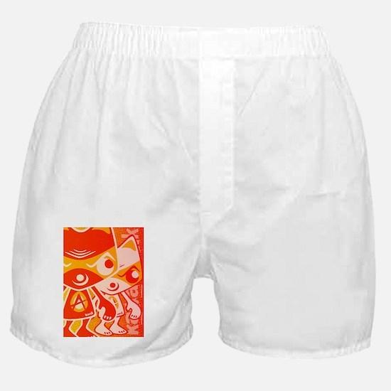 AngryGreetCardStencil Boxer Shorts
