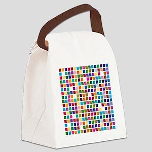 Colour boxes Canvas Lunch Bag