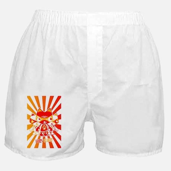 AngryPostcardStencil Boxer Shorts