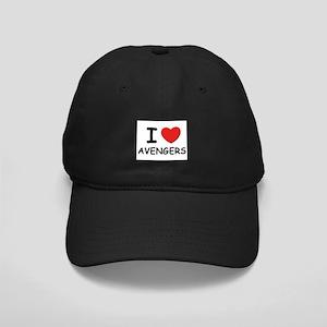I love avengers Black Cap
