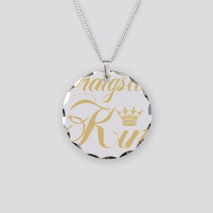 cl king gold Necklace Circle Charm