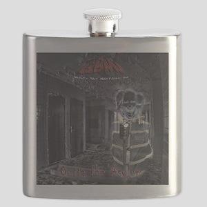 GBMI - Outta the Asylum CD Cover 10x10 Flask