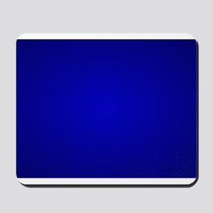 Minimal Art Dark Blue Mousepad