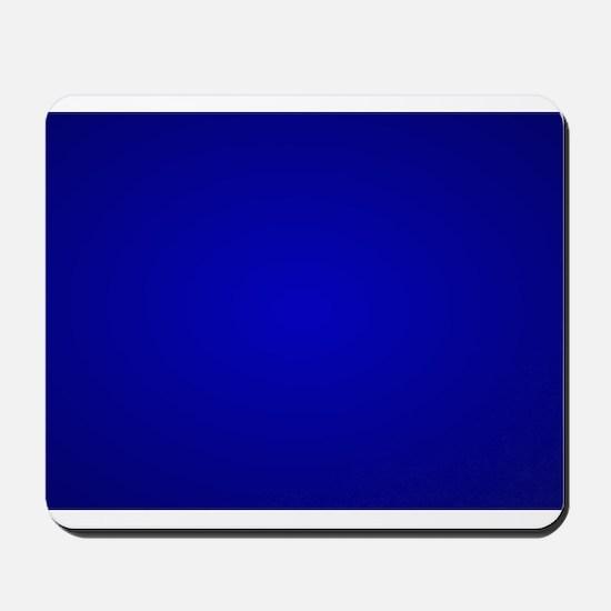 Minimal Art Dark Blue Mousepad