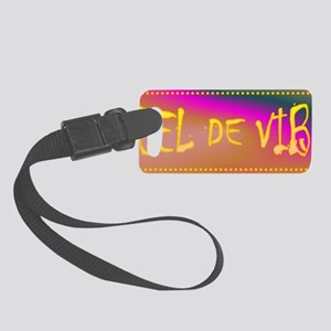 Feel the vibe Small Luggage Tag