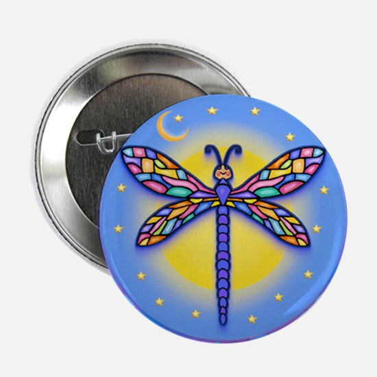 "LGLG-Butterfly (purp) 2.25"" Button"