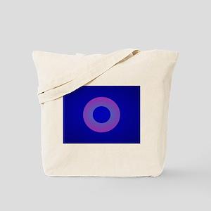 Minimal Art Lavender Ring Tote Bag