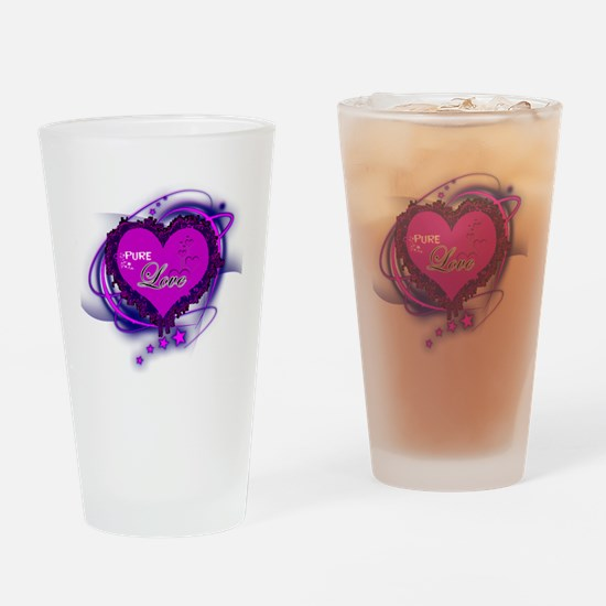 Pure Love Complete Drinking Glass