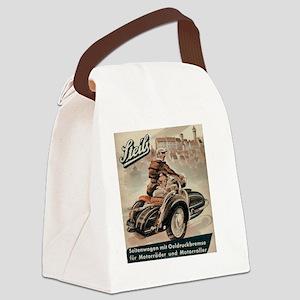 sidecar Canvas Lunch Bag