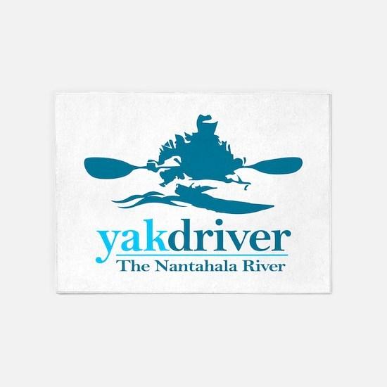 yakdriver Nantahala 5'x7'Area Rug