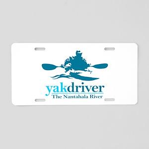 yakdriver Nantahala Aluminum License Plate