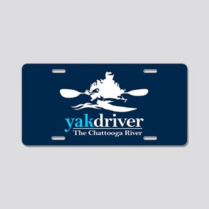 yakdriver -Chattooga Aluminum License Plate