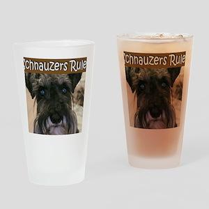 schnauzersrule Drinking Glass