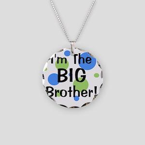 imthebigbrother_greenbluecir Necklace Circle Charm