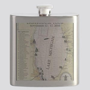 S Lk Mich map Flask