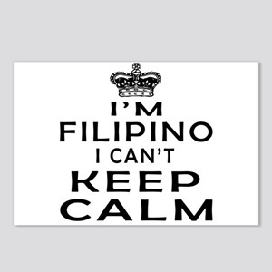 I Am Filipino I Can Not Keep Calm Postcards (Packa