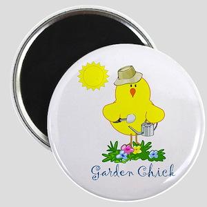 Garden Chicks Magnet