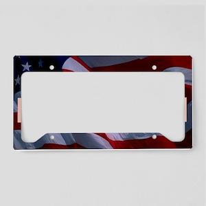 Freedom Banner License Plate Holder