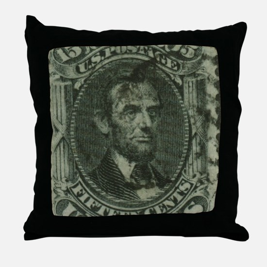 STAMPshirt2 Throw Pillow