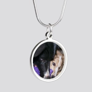 Seelie and Sekhmet 20100703 Silver Round Necklace