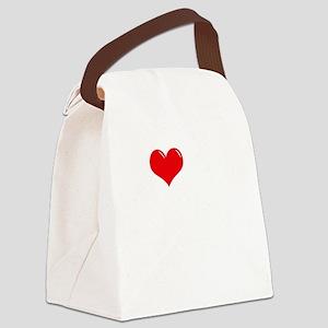 I-Love-My-Chorkie-dark Canvas Lunch Bag