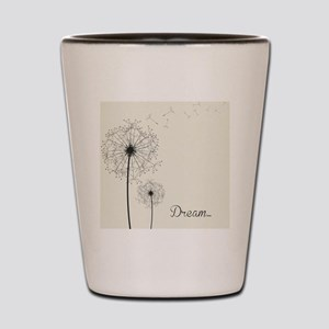 Dandelion  Shot Glass