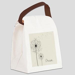 Dandelion  Canvas Lunch Bag