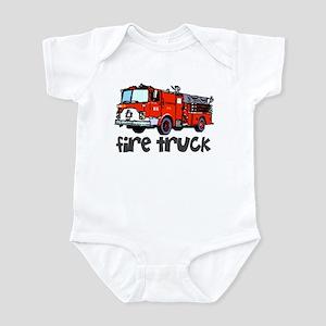 Firetruck Infant Bodysuit