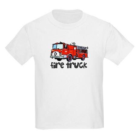 Firetruck Kids T-Shirt