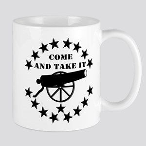 Cannon Come And Take It Mug