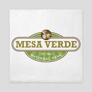 Mesa Verde National Park Queen Duvet