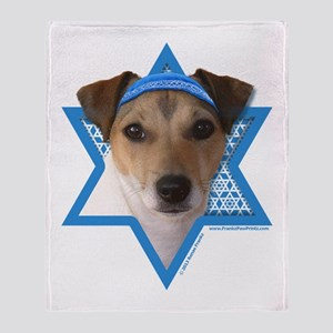 Hanukkah Star of David - Jack Throw Blanket
